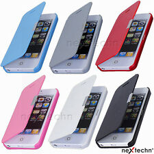 Magnetic Flip Leather Hard Skin Pouch Wallet Cover Case Only For iPhone 5C