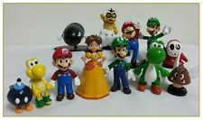 Super Mario cake toppers figures ( 6 PIECES FOR EACH SET )