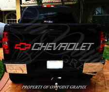 Chevrolet Tailgate Decal Lettering Pickup Truck Chevy Sticker Emblem 454ss GM