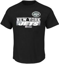 New York Jets NFL Majestic Mens Rumble Tee Shirt Black Big & Tall Sizes