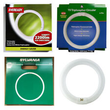 BRANDED 4 PIN CIRCULAR MAGNIFIER LAMP T9 FLUORESCENT TUBE In 22w 32w 40w or 60w