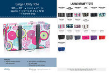Thirty-One Large Utility Tote - New -   IN STOCK ~ 1st Quality  New SELECTION