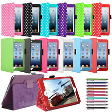 Leather Magnetic Flip Leather Smart Stand Case Cover for Apple iPad Mini 3 2 1