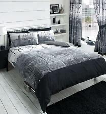 Duvet Cover Set With 2 Pillow Cases Bedding Quilt Cover Set All Sizes New York