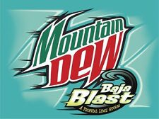 Mountain Dew Baja Blast Soda 12oz Cans, 12 Pack Fridge Pack!