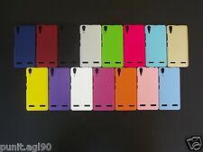 Premium Hard Back Shell Cover Case Pouch Matte For Lenovo A6000 Plus and A6000