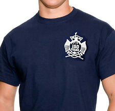 Navy FDNY 150th Anniversary Tee Shirt  LIMITED EDITION