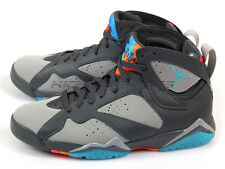 Nike Air Jordan 7 VII Retro Barcelona Dark Grey/Turquoise Blue-Orange 304775-016