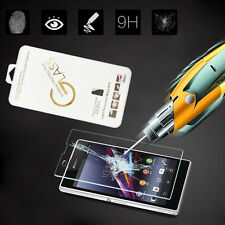 9H HOT Sale Toughened Tempered Glass Screen Protector Film For SONY Z1 Z2 Z3 M2