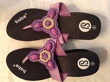 ladies fashion purple colorful high wedge sandals//..2317