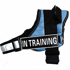 Reflective Service Dog Vest Dog Harness Padded with Removable 2 Velcro Patches