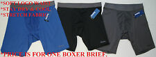 Reebok Men's Athletic Stretch Boxer Brief S 28/30 M 32/34 L 36/38 X 40/42 Gym