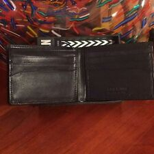 classic STEVE MADDEN men's passcase wallet w ID holder - brown or black leather