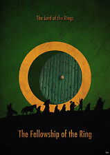Lord Of The Rings Movie Fellowship Of The Ring Film LOR01 Poster A0,A1,A2,A3,A4