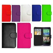 Flip Wallet Leather Book Case Cover For Htc One M9 Phone Free Screen guard