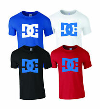 DC T Shirt Tee Top Skate Mens Boys Sports Casual Swag Christmas Present Gift