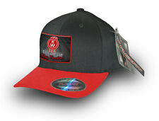 KENWORTH TRUCK FLEXFIT CAP  Black/Red  KENWORTH CAP Life's Hard Keep on truckin'