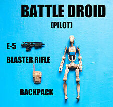 Star Wars Pilot Battle Droid Action Figure!