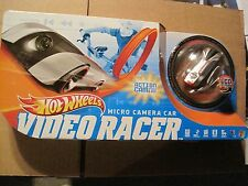 Hot Wheels Video Racer, micro camera car and setup, silver/ red car