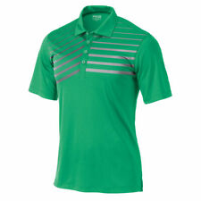 Ping Mens Sensor Cool Gradient Stripe Golf Polo Green Navy Blue Orange pic size
