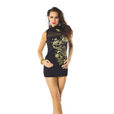 Sexy Sleeveless Cocktail Lady Evening Party Clubwear Women Bandage Bodycon Dress