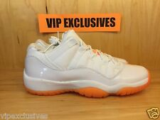 Nike Air Jordan 11 Retro XI low Retro GG GS Citrus White 580521-139