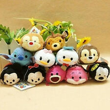 New Cute Kawaii Cartoon Tiny Plush Dolls Toys Great Gifts For Children Kids Fans