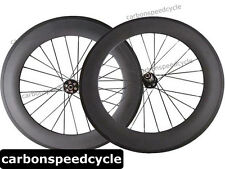 Disc Brake Carbon Cyclocross Bicycle Wheels 88mm Clincher/Tubular D711SB/D712SB