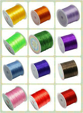 1Roll 0.8mm Shock Crystal Stretchy Elastic String Thread Necklace Beading Cord