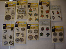 NEW SUMMER FUN LIL' CHARMS LIL' STACKERS Beach Picnic BBQ Sun *Your Choice* ATD