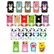 GOOD Funny Popular Cute Cartoon Animal Characters Soft Case Cover iPhone 4 4s