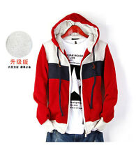 New Fashion Korean Men's Slim Fit Top Designed Hooded Hoodies Coats Jackets dd