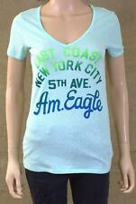American Eagle Outfitters East Coast NYC Tee Womens Mint Green T-Shirt New NWT