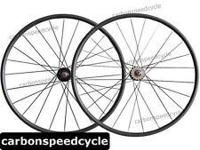2015 Hot Sale Carbon fixed gear Bicycle Wheels 24mm Clincher/Tubular track Hubs