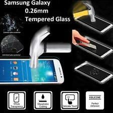 Premium Real Clear Tempered Glass Film Screen Protector for Samsung Galaxy