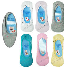 6 Pairs Women's invisible Liner Trainer Shoe No Show Footless Socks Plain Dots