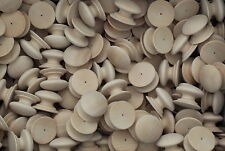 """53mm Beech Antique Style Knobs Drilled (2"""") Handles CHOOSE QUANTITY 2"""" inch"""
