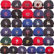 New Era MLB Infants Newborn Baby My 1st 59Fifty 5950 Fitted Baseball Cap Hat