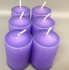 Votive Candles, Purple, 15hr Unscented, 2,4,or 6