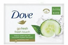 DOVE Solid Soap Bar Go Beauty Cream Fresh Scent Of Green Tea And Cucumber 100 G