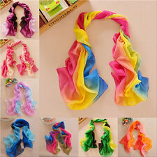 New Fashion Girl's Womens' Long Soft Wrap Lady Shawl Silk Chiffon Scarf W048