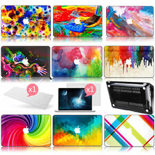"Oil Painted Hard Protective Case For Macbook Air 11""13""/ Pro 13""15"" + Free Gifts"