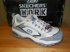 NIB Womens Skechers Steel Toe Athletic Shoe Szs 5-7   76224/WGBL