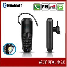 Brand New Tiny Mini Smallest Unlock GSM Mobile Phone Bluetooth Dialer Headset