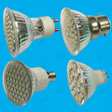 6x 5.6W LED Spot Light Bulbs Stock Daylight Warm White Replaces Halogen Lamps