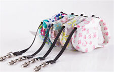 16.5FT Pet Dog Puppy Automatic Retractable Traction Rope Walking Lead Leash New