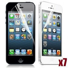 7X CLEAR LCD FRONT TOUCHSCREEN PROTECTOR SCREEN GUARD FOR APPLE IPHONE 5 5C 5S