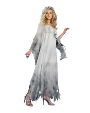 GRAVEYARD NIGHTGOWN RUBIES HALLOWEEN COSTUME UNDEAD GHOST CUTE SCARY 889340