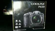 BRAND NEW NEVER OPEN Nikon Coolpix P610 16.0 MP Digital Camera, 60x Optical Zoom