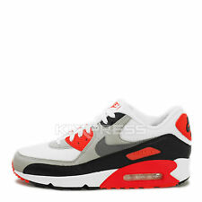 Nike Air Max 90 OG [725233-106] NSW Running Original White/Grey-Black-Infrared